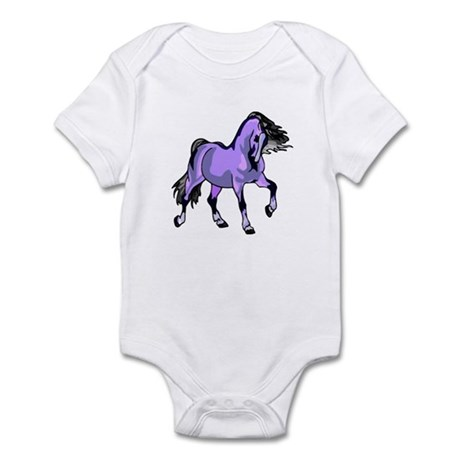 Fantasy Horse Lilac Infant Bodysuit