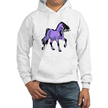 Fantasy Horse Lilac Hooded Sweatshirt