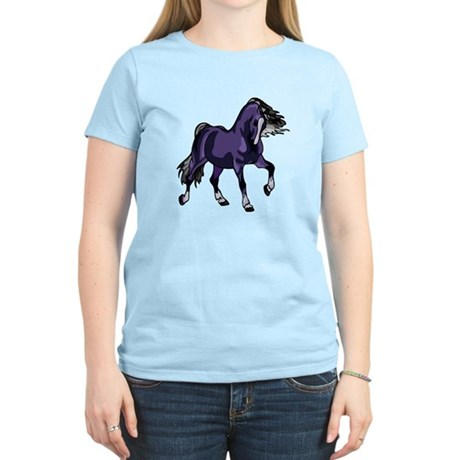 Fantasy Horse Purple Women's Light T-Shirt