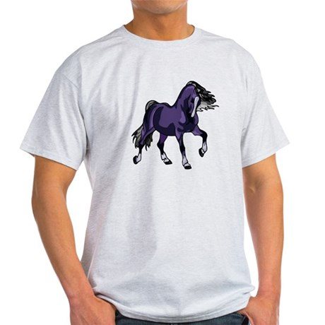 Fantasy Horse Purple Light T-Shirt