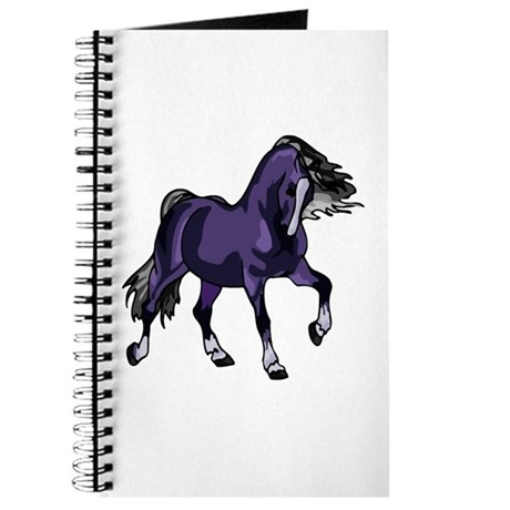Fantasy Horse Purple Journal