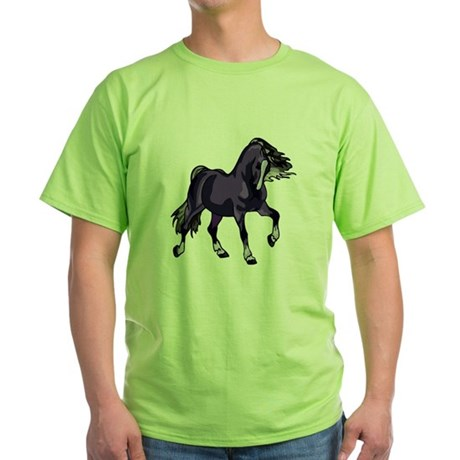 Fantasy Horse Purple Green T-Shirt