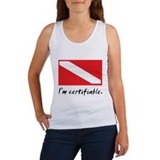 I'm certifiable Women's Tank Top
