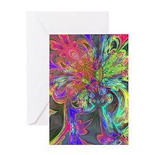 Bright Burst of Color Deva Greeting Card