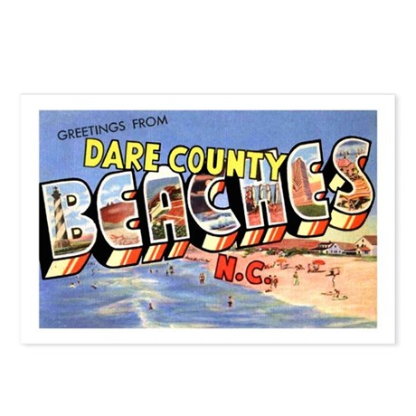 Dare County Beaches Postcards (Package of 8)