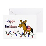 Democratic Christmas Cards (Pk of 10)