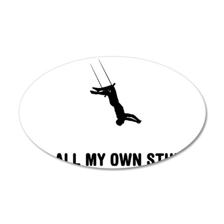 Trapeze-03-A 35x21 Oval Wall Decal
