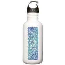 Letter, Initial, Monog Sports Water Bottle