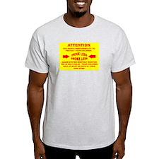 Funny Rape prevention T-Shirt