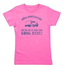 40th Anniversary Humor (Long Haul) Girl's Tee