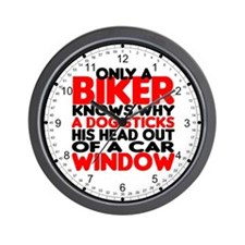 Only a Biker Wall Clock