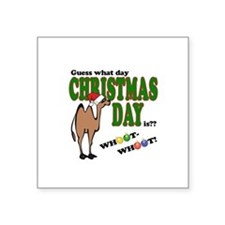 Hump Day Christmas Sticker