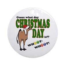 Hump Day Christmas Ornament (Round)