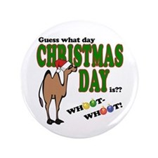 Hump Day Christmas 3.5&Quot; Button