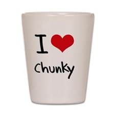 I love Chunky Shot Glass