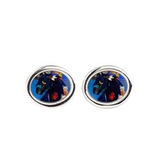 Black Stallion of Morning Cufflinks