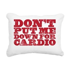 cardio Rectangular Canvas Pillow