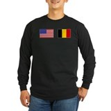 USA & Belgian Flags T
