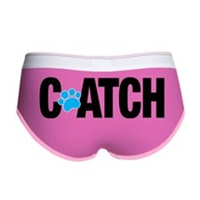 C-ATCH Paw Print Women's Boy Brief