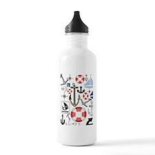 Nautical Fun Water Bottle