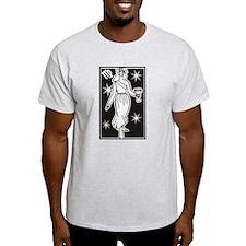 Virgo Ash Grey T-Shirt