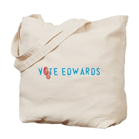 Vote Edwards 08 Tote Bag