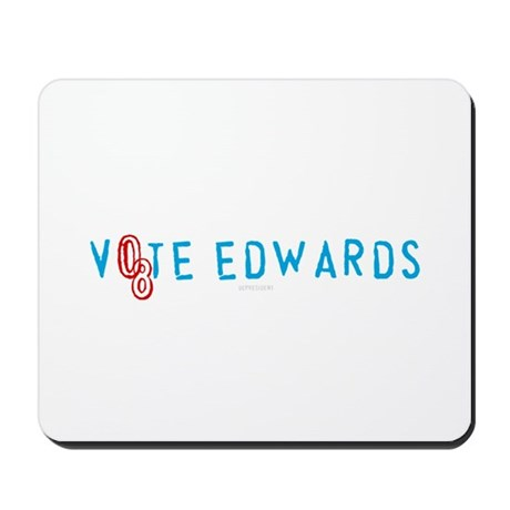 Vote Edwards 08 Mousepad