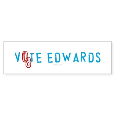 Vote Edwards 08 Bumper Sticker