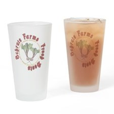 Schrute Farms Fresh Beets Drinking Glass