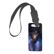 Starburst Cluster Celestial Fire Luggage Tag