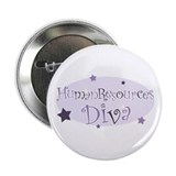 """Human Resources Diva"" [purpl Button"