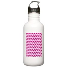 Whale Pink Water Bottle