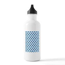 Whale Blue Water Bottle