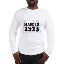 Made In 1973 Long Sleeve T-Shirt