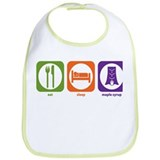 Eat Sleep Maple Syrup Bib
