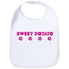 Sweet Potato Blooms Bib