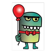 Creature with Balloon   S Postcards (Package of 8)