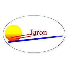 Jaron Oval Decal