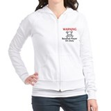 Warning Baseball Player Jumper Hoody Pullover