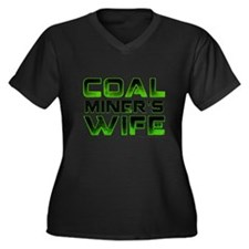 Coal Miners Wife Plus Size T-Shirt