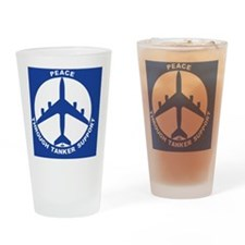 KC-135R - Peace Through Tanker Supp Drinking Glass