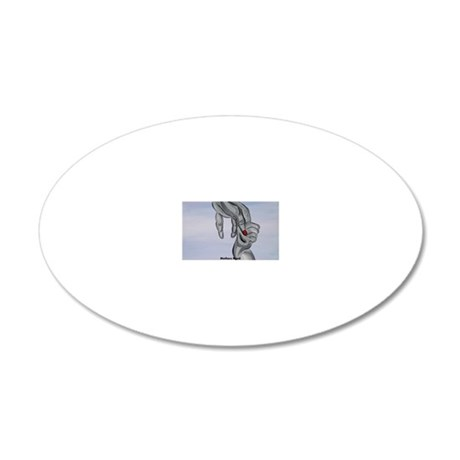 Mothers Bond 20x12 Oval Wall Decal