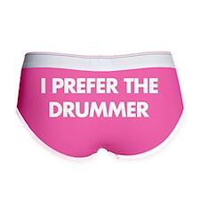 I Prefer The Drummer Women's Boy Brief