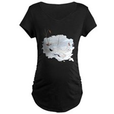 Ermine in the Snow T-Shirt