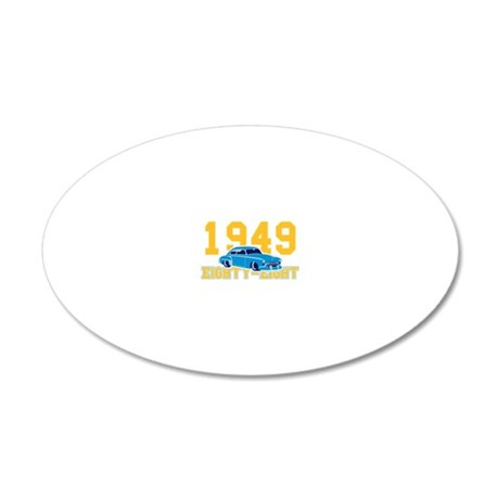 Oldsmobile Eighty-Eight mit  20x12 Oval Wall Decal