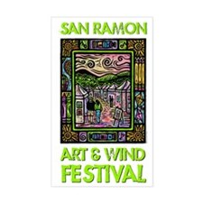 Art and Wind Festival 2013 Decal