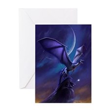 Dragon Flight Greeting Card