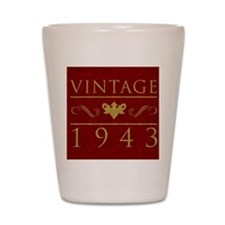 Vintage 1943 (Red) Shot Glass