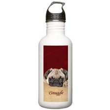 Adorable iSnuggle Pug  Water Bottle