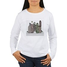 Retro Buildings T-Shirt